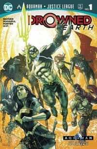 Aquaman Justice League Drowned Earth One-Shot CVR A
