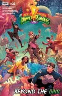 Mighty Morphin Power Rangers #33 CVR A