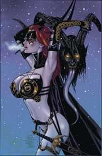 Tarot Witch of the Black Rose #113