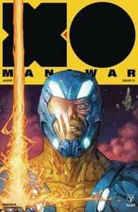 X-O Manowar #21 CVR A Rocafort