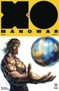 X-O Manowar #21 CVR B Quah