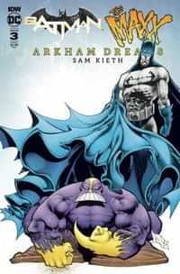 Batman the Maxx Arkham Dreams #3 CVR B