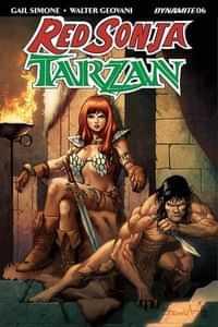 Red Sonja Tarzan #6 CVR B Davila