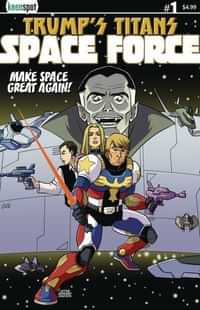 Trumps Titans Space Force One-Shot