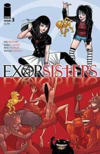 Exorsisters #3 CVR A Lagace