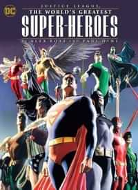 Justice League TP Worlds Greatest Heroes by Ross and Dini