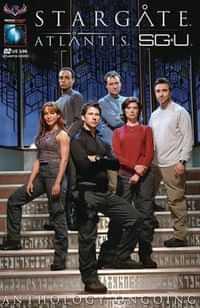 Stargate Atlantis Universe Anthology #2 CVR SGA Photo