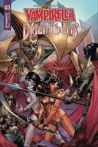 Vampirella Dejah Thoris #4 CVR D Anacleto