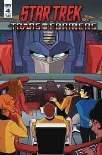 Star Trek Vs Transformers #4 CVR B Tramontano