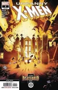 Uncanny X-Men #3 Second Printing