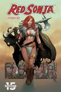 Red Sonja #1 CVR D Cho