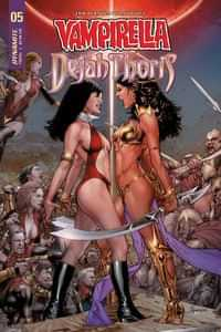 Vampirella Dejah Thoris #5 CVR B Anacleto