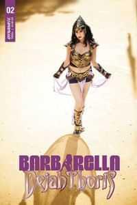Barbarella Dejah Thoris #2 CVR E Cosplay