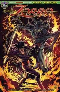 Zorro Swords of Hell #3 CVR A Martinez