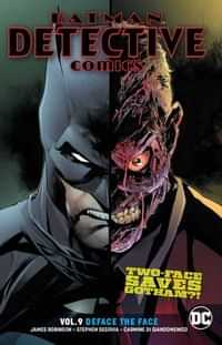 Detective Comics TP Deface the Face