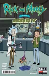 Rick and Morty Presents Jerry One-Shot CVR B Grace