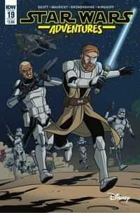 Star Wars Adventures #19 CVR A Mauricet