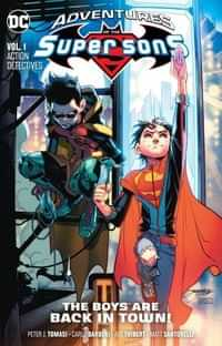 Super Sons TP Adventures of the Super Sons Action Detective