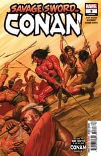 Savage Sword of Conan #3
