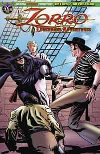 Zorro Legendary Adventures #4