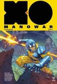 X-O Manowar HC 2017 Matt Kindt Deluxe V1