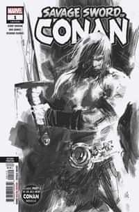 Savage Sword of Conan #1 Second Printing Garney