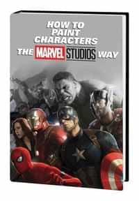 Marvel HC How to Paint Characters Marvel Studios Way