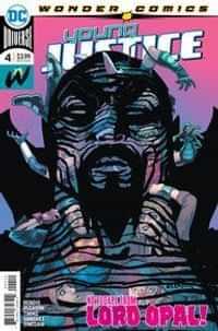 Young Justice #4 CVR A