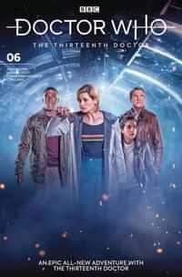 Doctor Who 13th #6 CVR B Photo