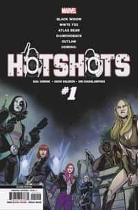 Domino Hotshots #1 Second Printing Baldeon