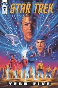 Star Trek Year Five #1