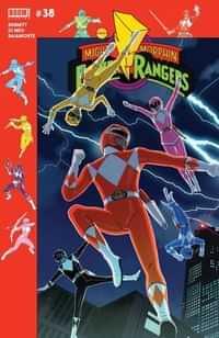 Mighty Morphin Power Rangers #38 CVR B PreOrder Gibson