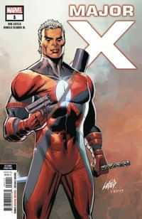 Major X #1 Second Printing Liefeld