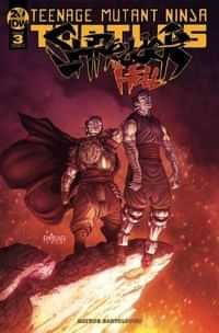 TMNT Shredder In Hell #3 CVR A Santolouco