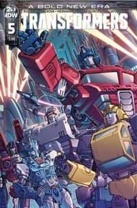Transformers #5 CVR A Griffith