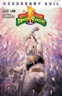 Mighty Morphin Power Rangers #40 CVR A