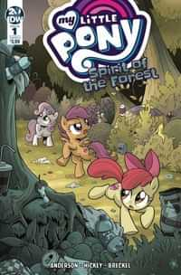 My Little Pony Spirit of the Forest #1 CVR A Hickey