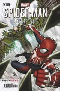Spider-Man City At War #3 Variant Nakayama