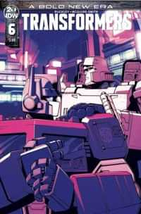 Transformers #6 CVR A Lawrence
