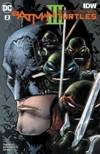 Batman Teenage Mutant Ninja Turtles III #2 CVR A