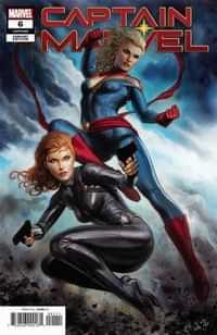 Captain Marvel #6 Variant Granov