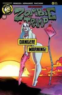 Zombie Tramp #61 CVR D Federhenn Risque