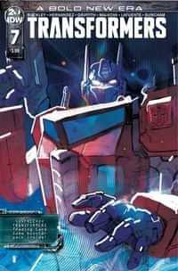 Transformers #7 CVR A Ward