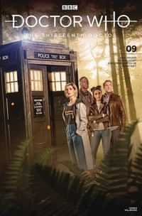 Doctor Who 13th #9 CVR B Photo