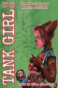 Tank Girl Full Color Classics #4 1991-92 CVR B Hewlett
