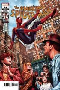 Amazing Spider-Man #24 Variant Brooks Marvels 25th Tribute