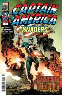 Captain America Invaders Bahamas Triangle One-Shot