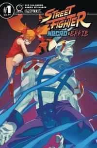 Street Fighter Necro and Effie #1 CVR A Steinbach