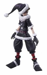 Kingdom Hearts IF Bring Arts AF Sora Christmas Town Version