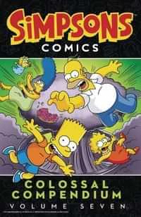 Simpsons Comics TP Colossal Compendium V7